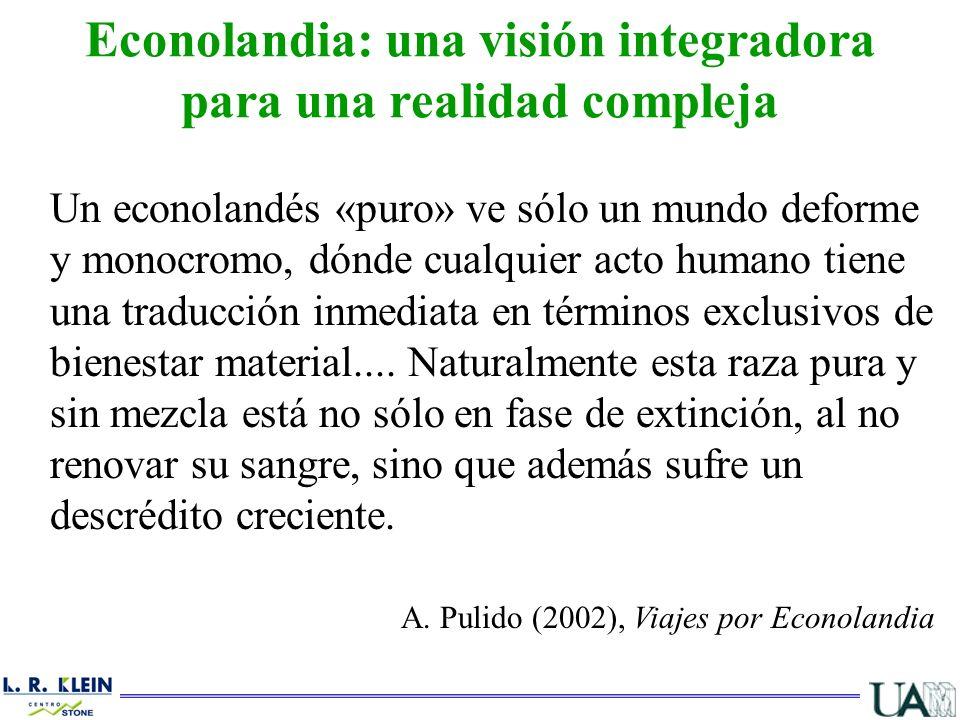 Econolandia: una visión integradora para una realidad compleja