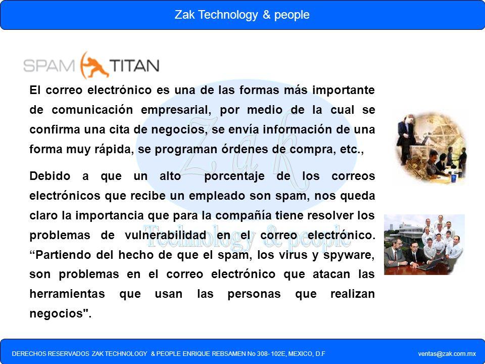 Zak Technology & people