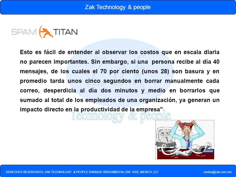 Zak Technology & people