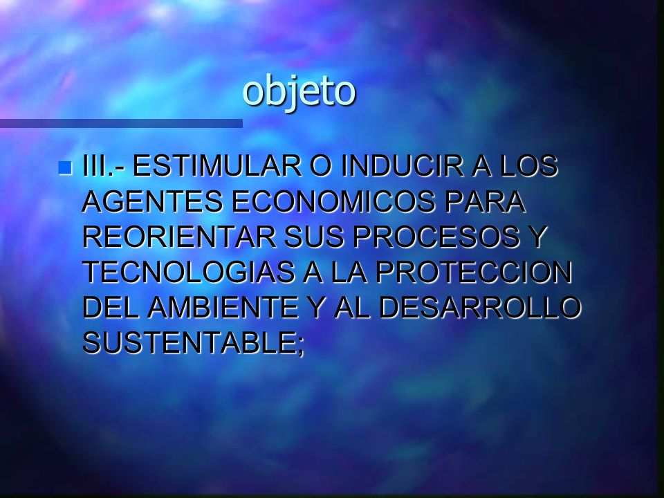 objeto