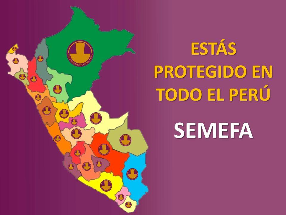 ESTÁS PROTEGIDO EN TODO EL PERÚ