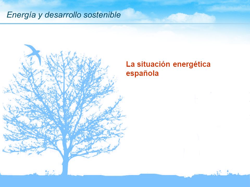 La situación energética española