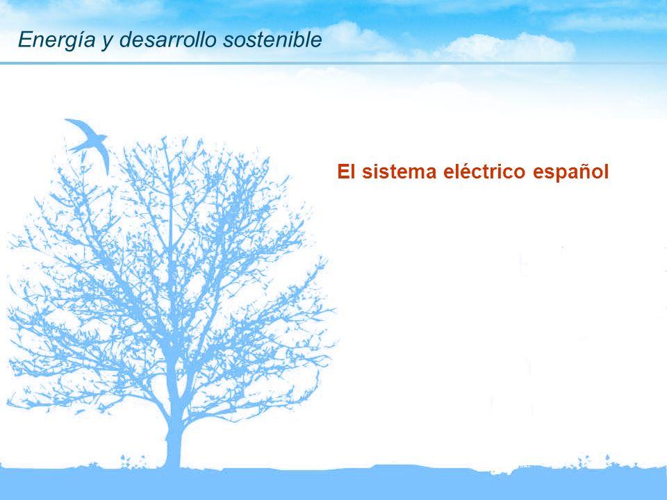 El sistema eléctrico español