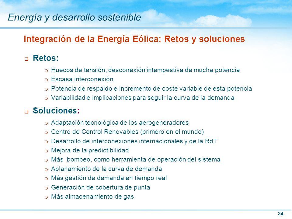 Integración de la Energía Eólica: Retos y soluciones