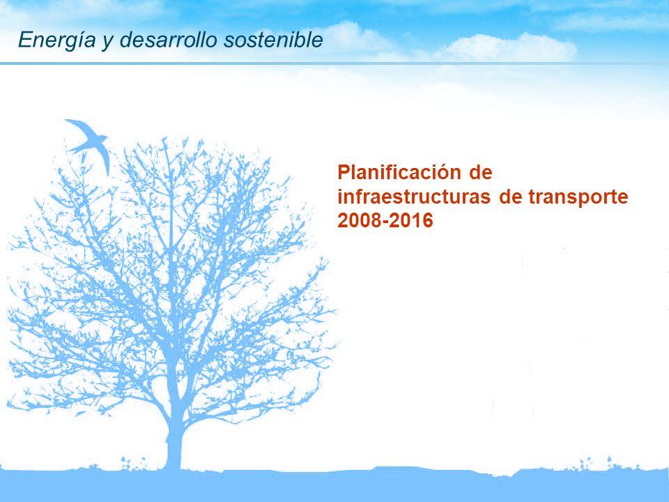 Planificación de infraestructuras de transporte 2008-2016