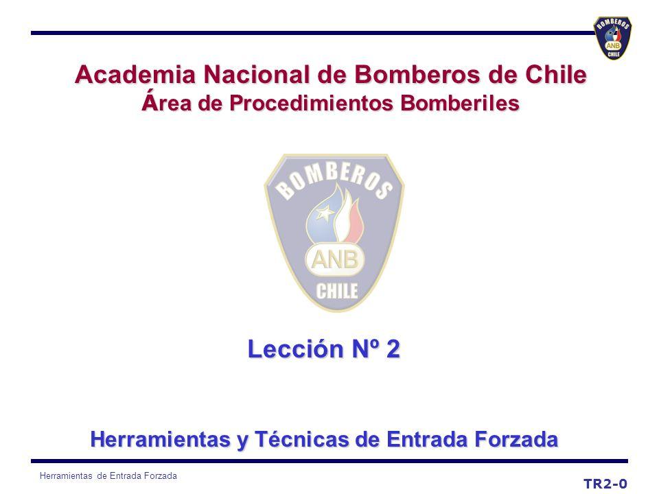 Academia Nacional de Bomberos de Chile Lección Nº 2
