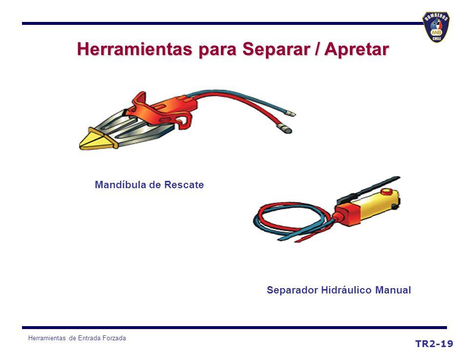 Herramientas para Separar / Apretar Separador Hidráulico Manual