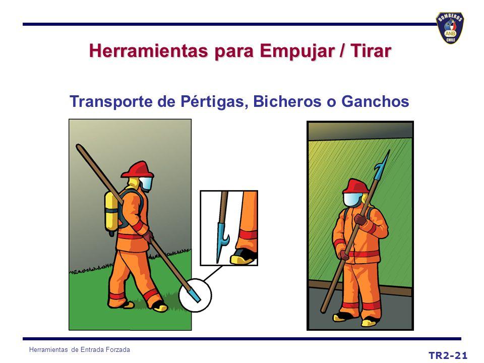 Herramientas para Empujar / Tirar