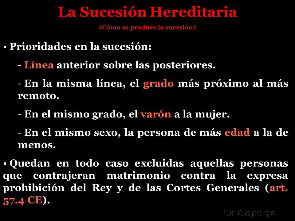 La Sucesión Hereditaria ¿Cómo se produce la sucesión