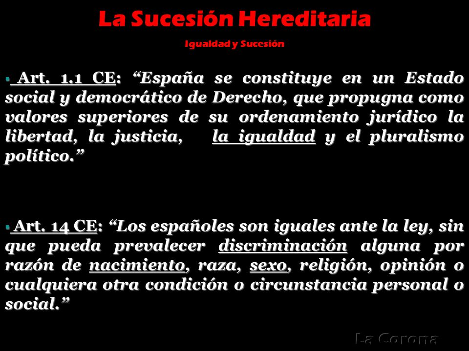 La Sucesión Hereditaria