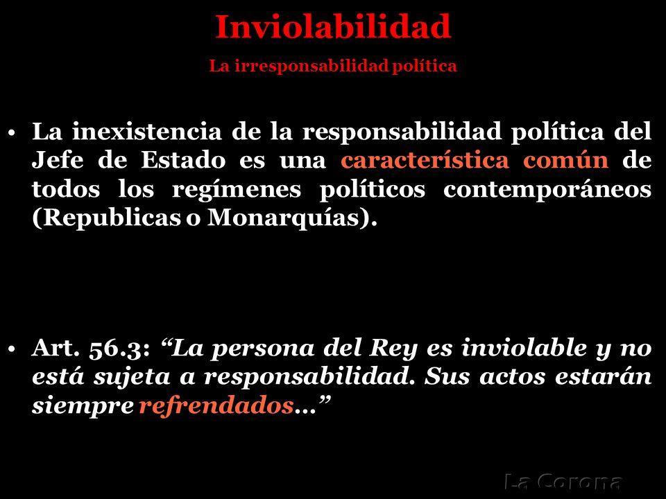 La irresponsabilidad política
