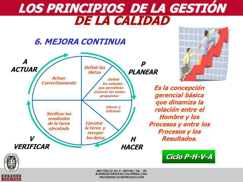 LOS PRINCIPIOS DE LA GESTIÓN DE LA CALIDAD