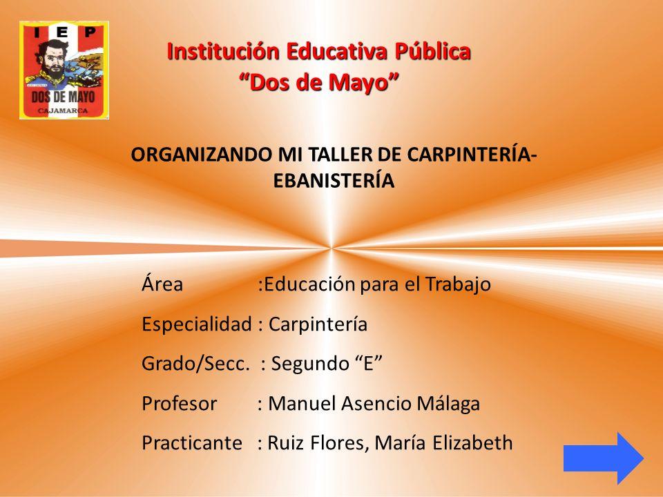 Institución Educativa Pública Dos de Mayo