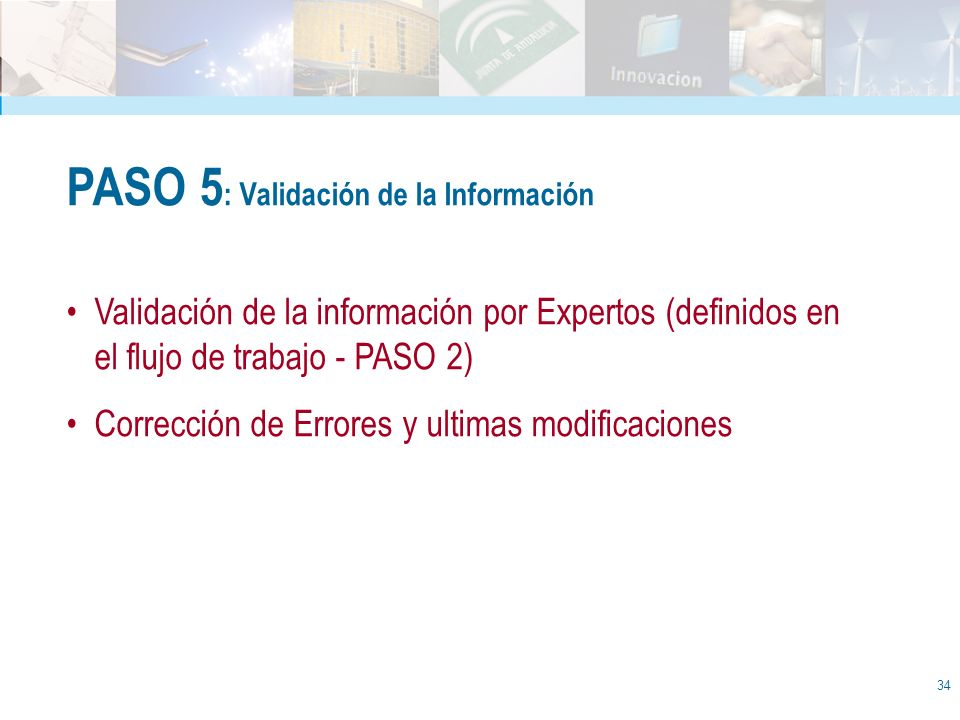PASO 5: Validación de la Información