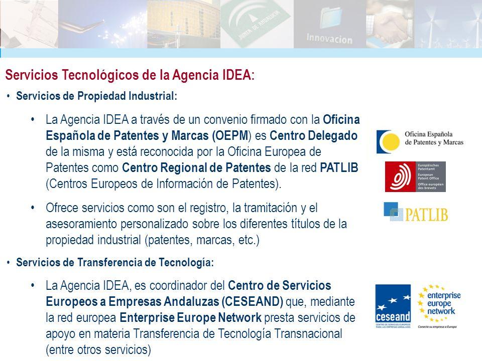 Servicios Tecnológicos de la Agencia IDEA: