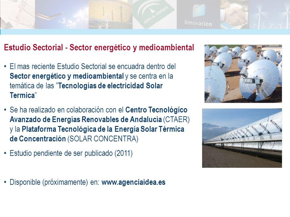 Estudio Sectorial - Sector energético y medioambiental