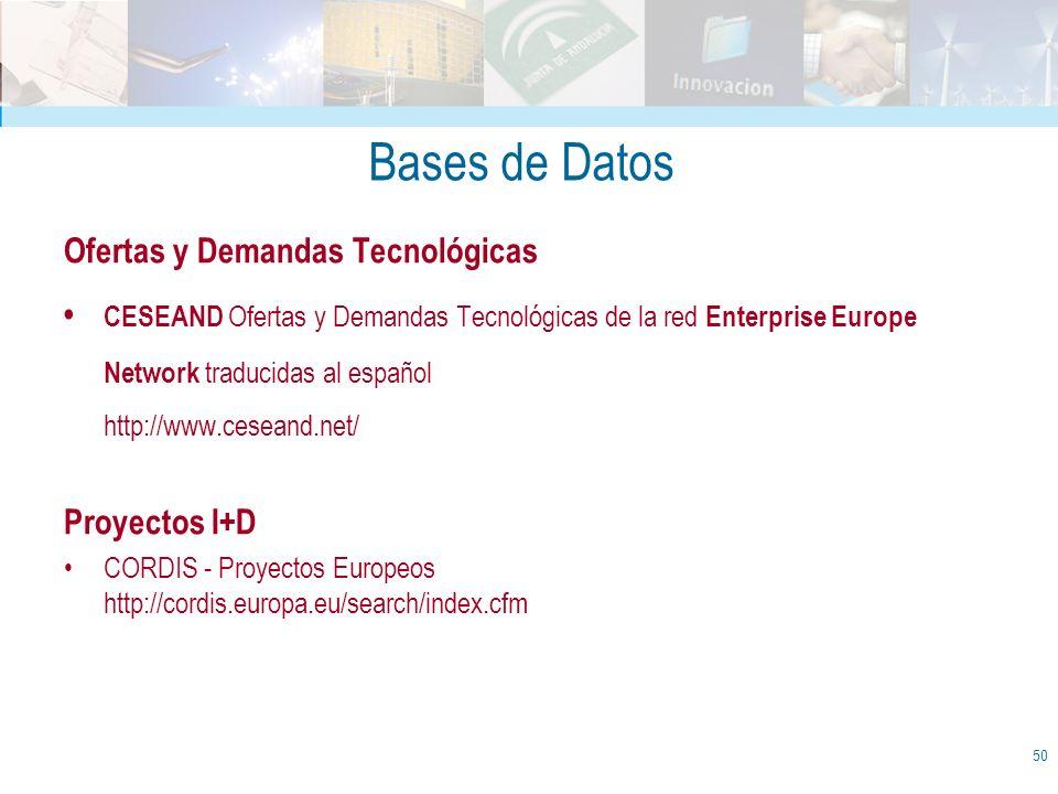 Bases de Datos Ofertas y Demandas Tecnológicas