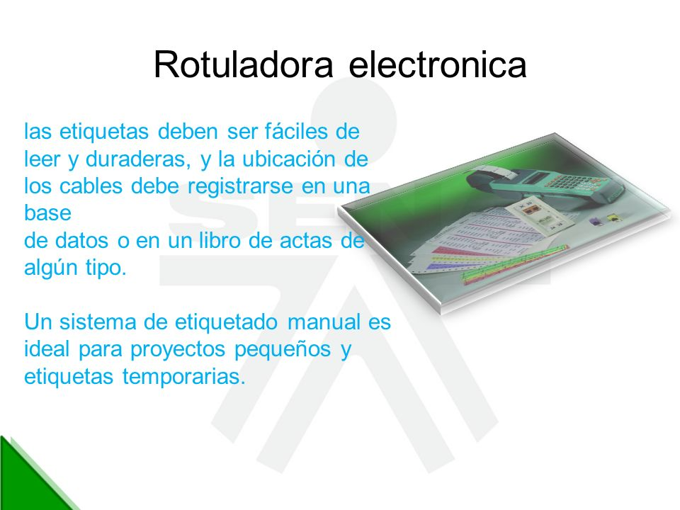 Rotuladora electronica