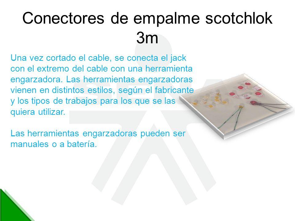 Conectores de empalme scotchlok 3m