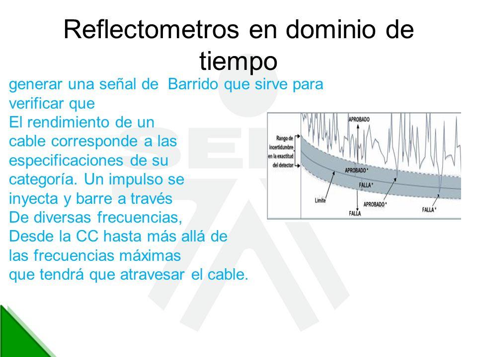 Reflectometros en dominio de tiempo
