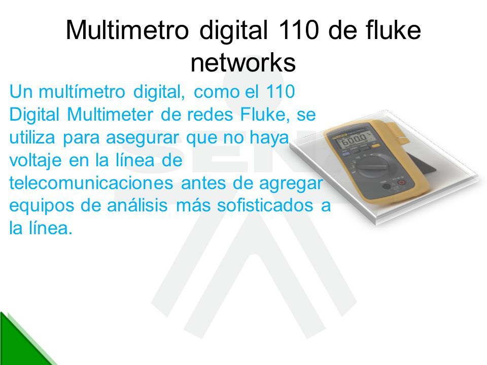 Multimetro digital 110 de fluke networks
