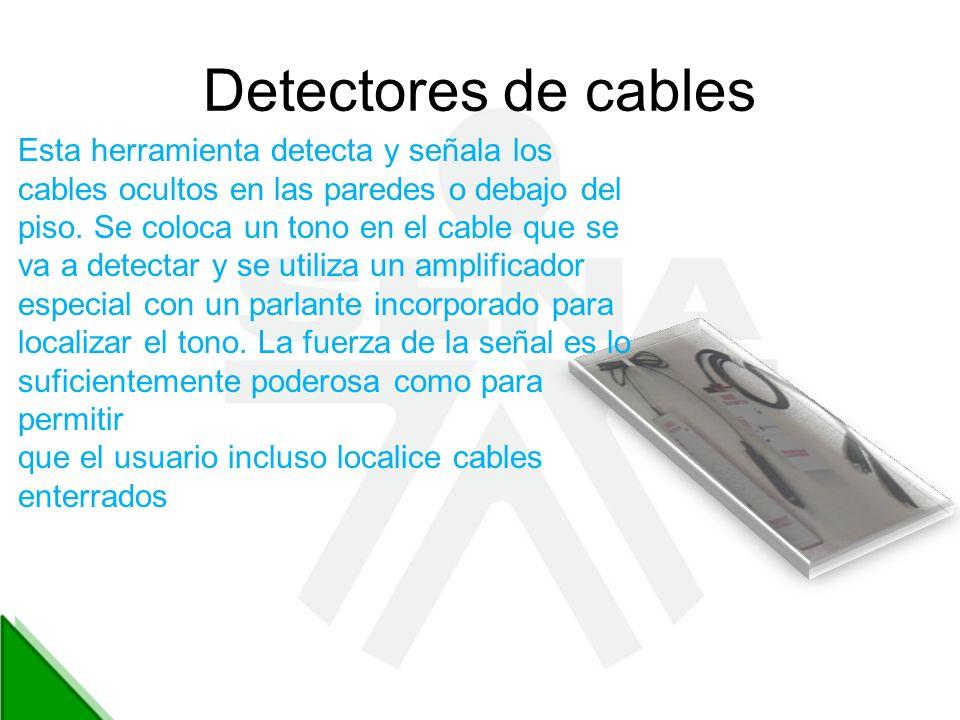Detectores de cables