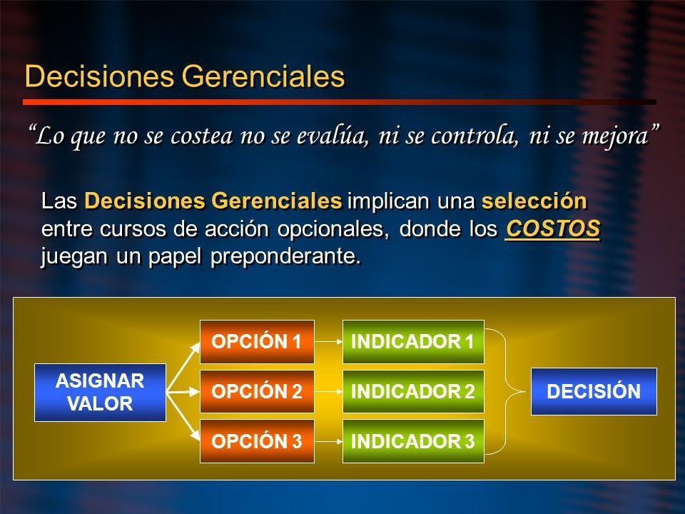Decisiones Gerenciales