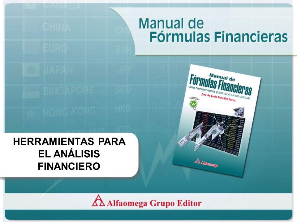 HERRAMIENTAS PARA EL ANÁLISIS FINANCIERO