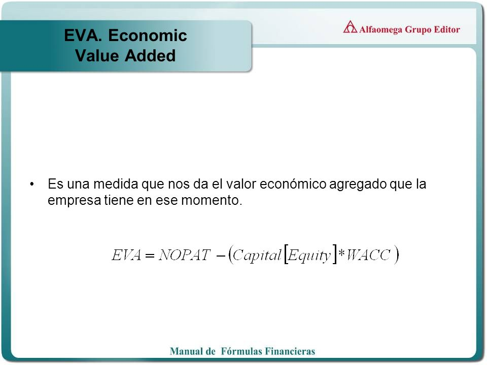 EVA. Economic Value Added
