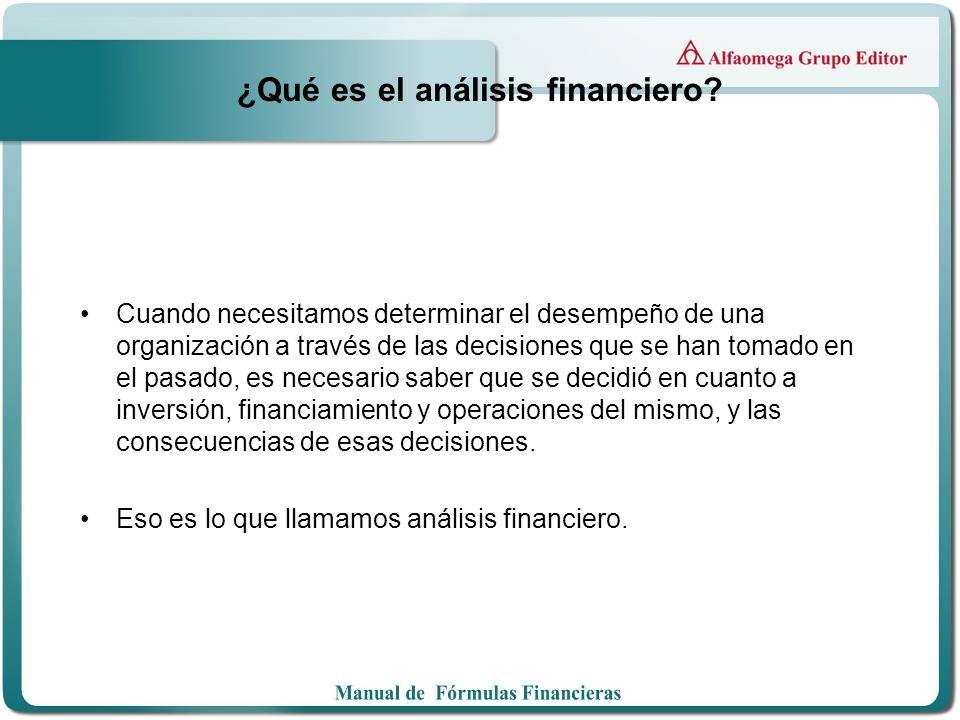 ¿Qué es el análisis financiero