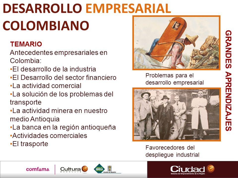 DESARROLLO EMPRESARIAL COLOMBIANO