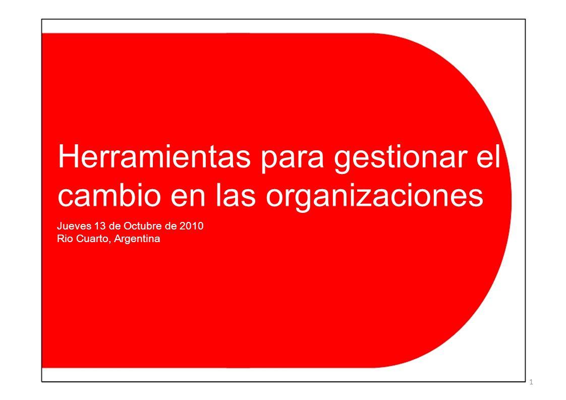 Herramientas para gestionar el cambio en las organizaciones