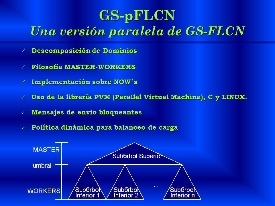 GS-pFLCN Una versión paralela de GS-FLCN