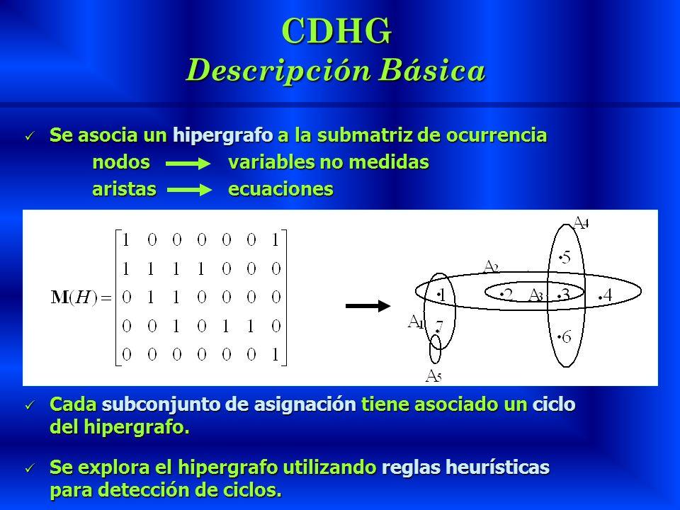 CDHG Descripción Básica