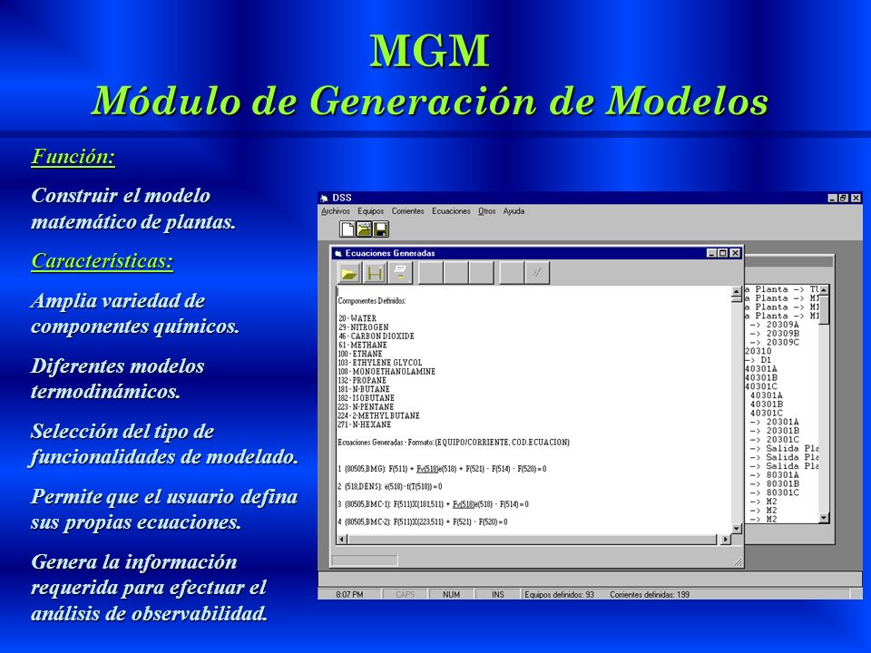 MGM Módulo de Generación de Modelos