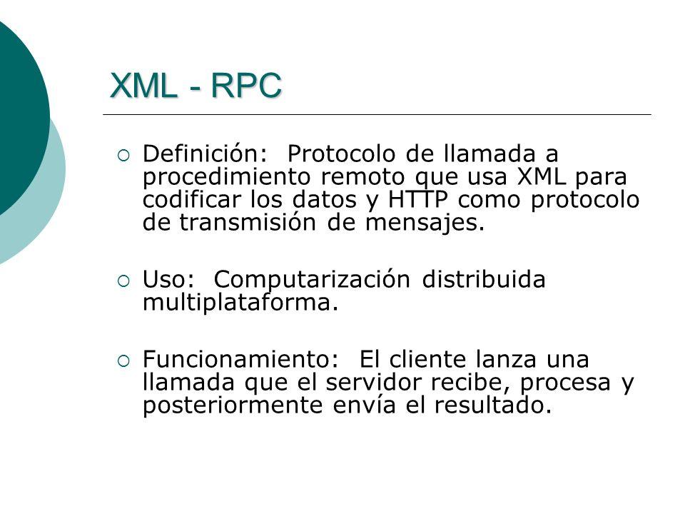 XML - RPC
