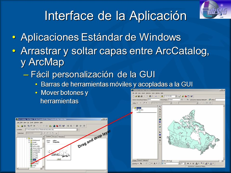 Interface de la Aplicación