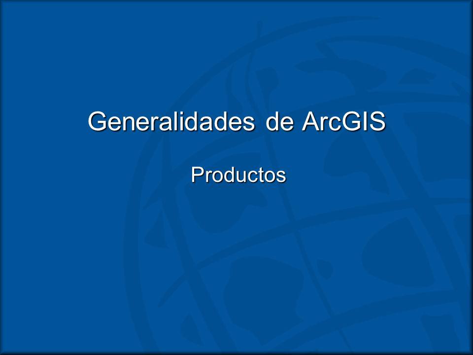Generalidades de ArcGIS
