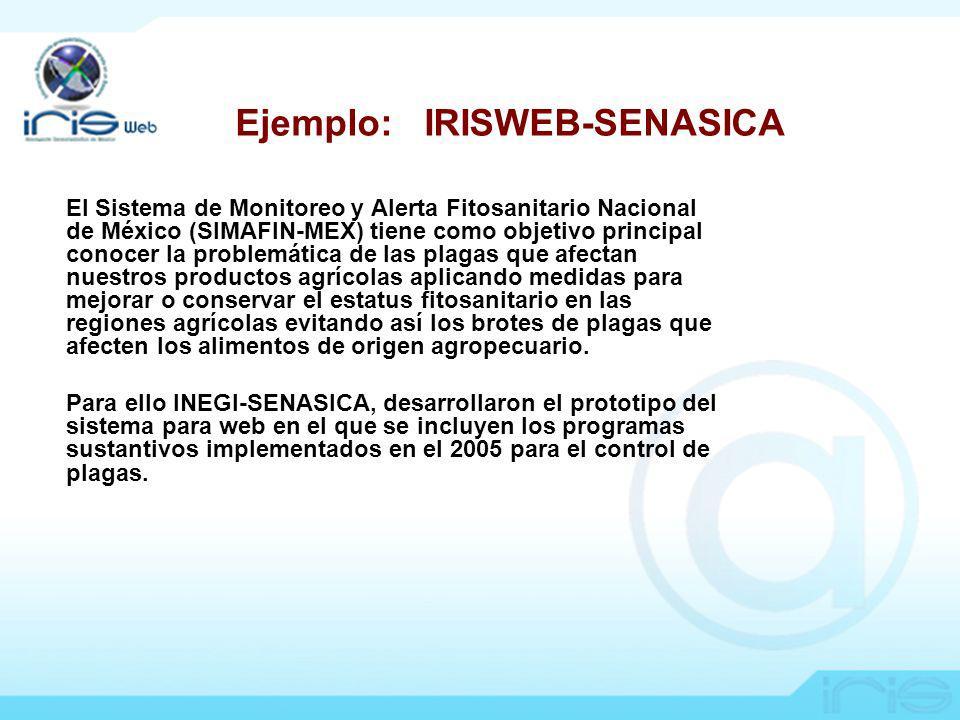 Ejemplo: IRISWEB-SENASICA