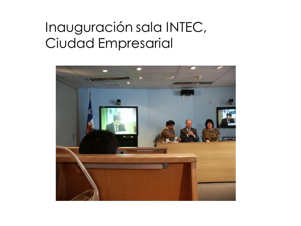 Inauguración sala INTEC, Ciudad Empresarial