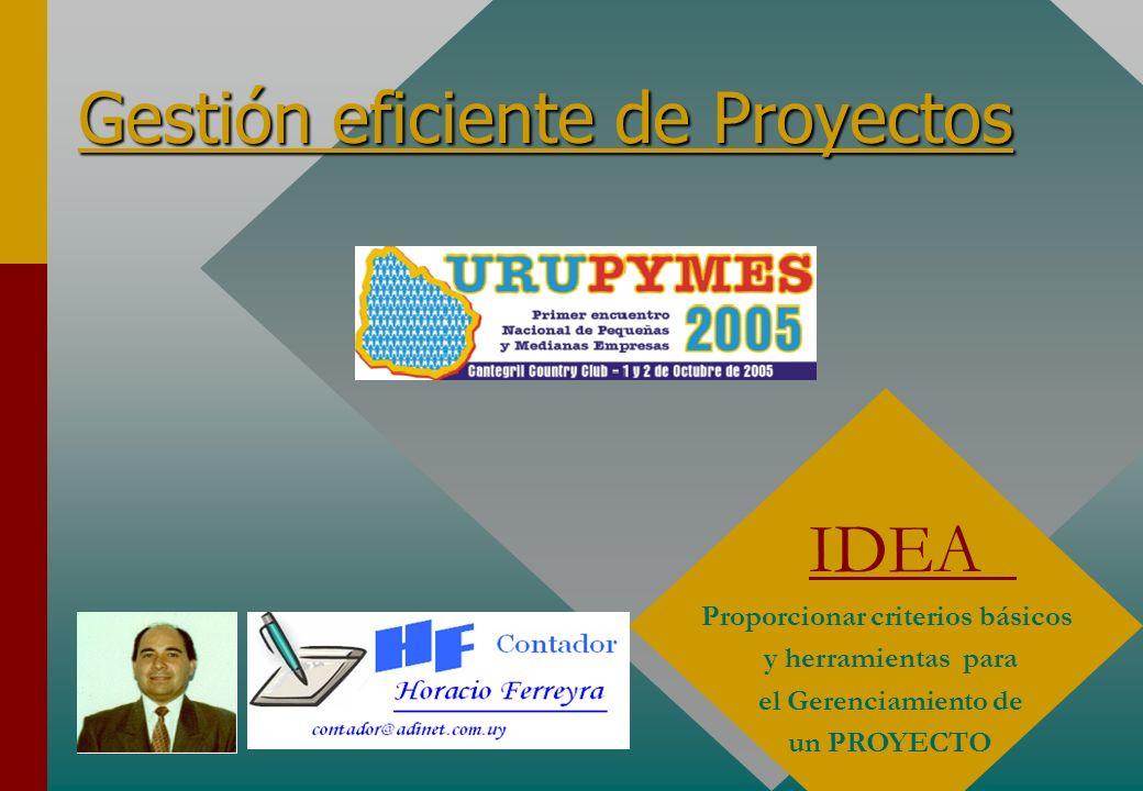 Gestión eficiente de Proyectos