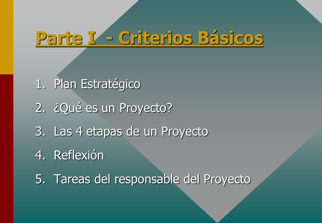 Parte I - Criterios Básicos