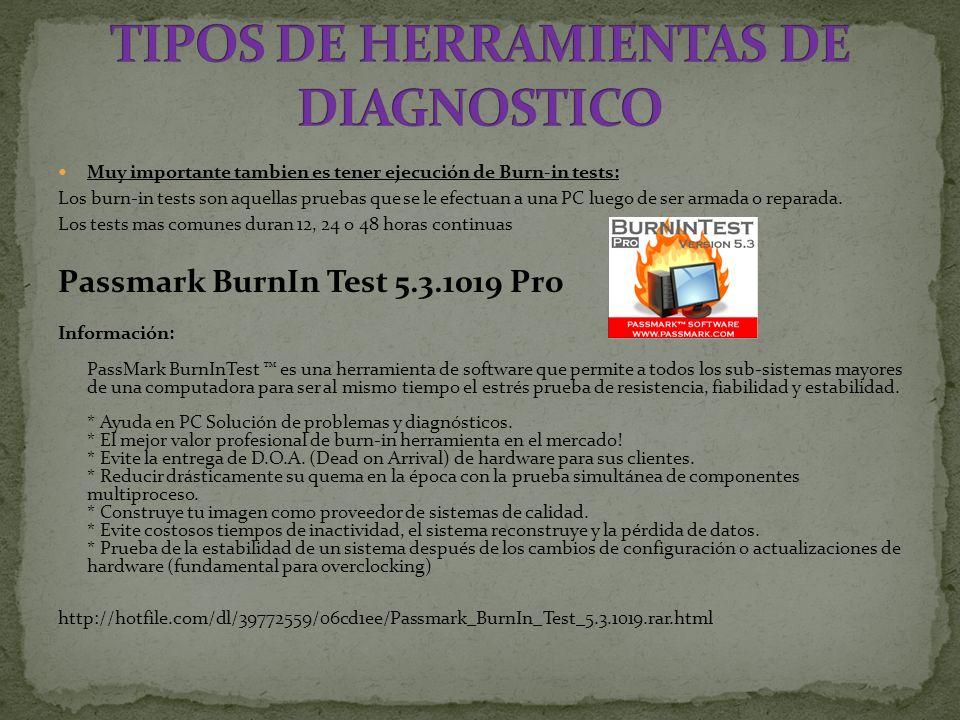 TIPOS DE HERRAMIENTAS DE DIAGNOSTICO