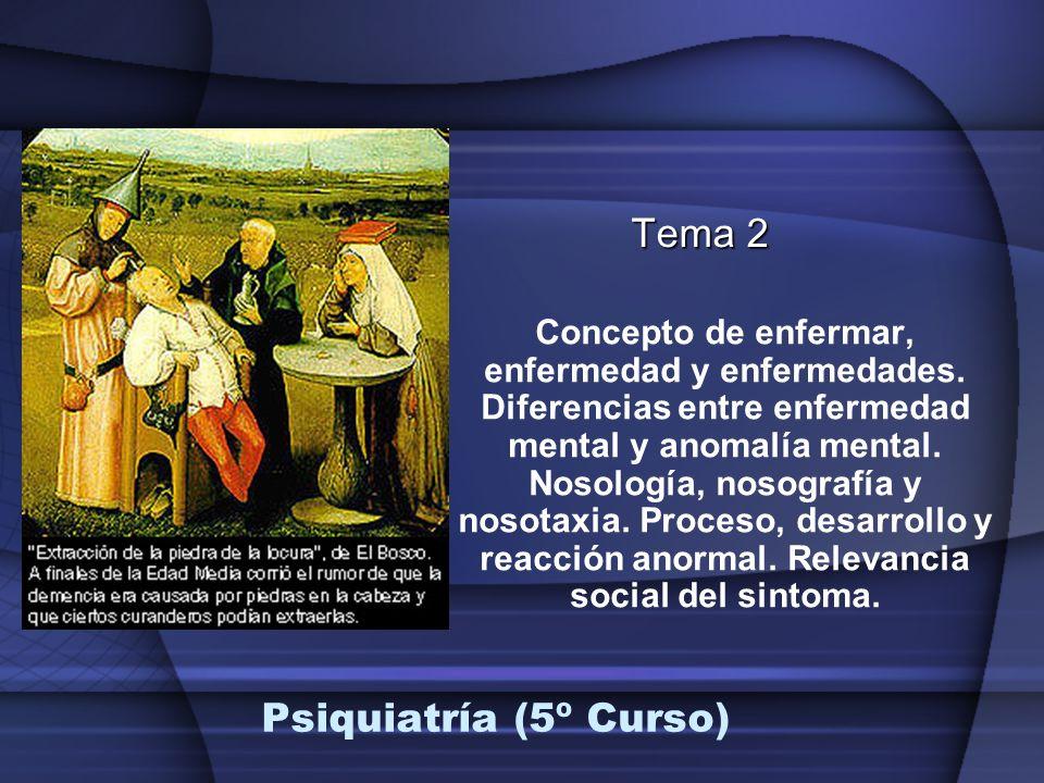 Tema 2 Psiquiatría (5º Curso)