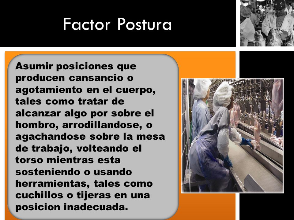 Factor Postura