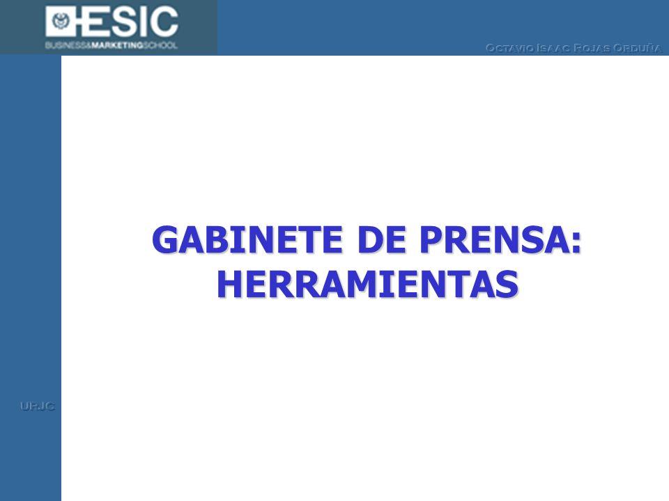 GABINETE DE PRENSA: HERRAMIENTAS