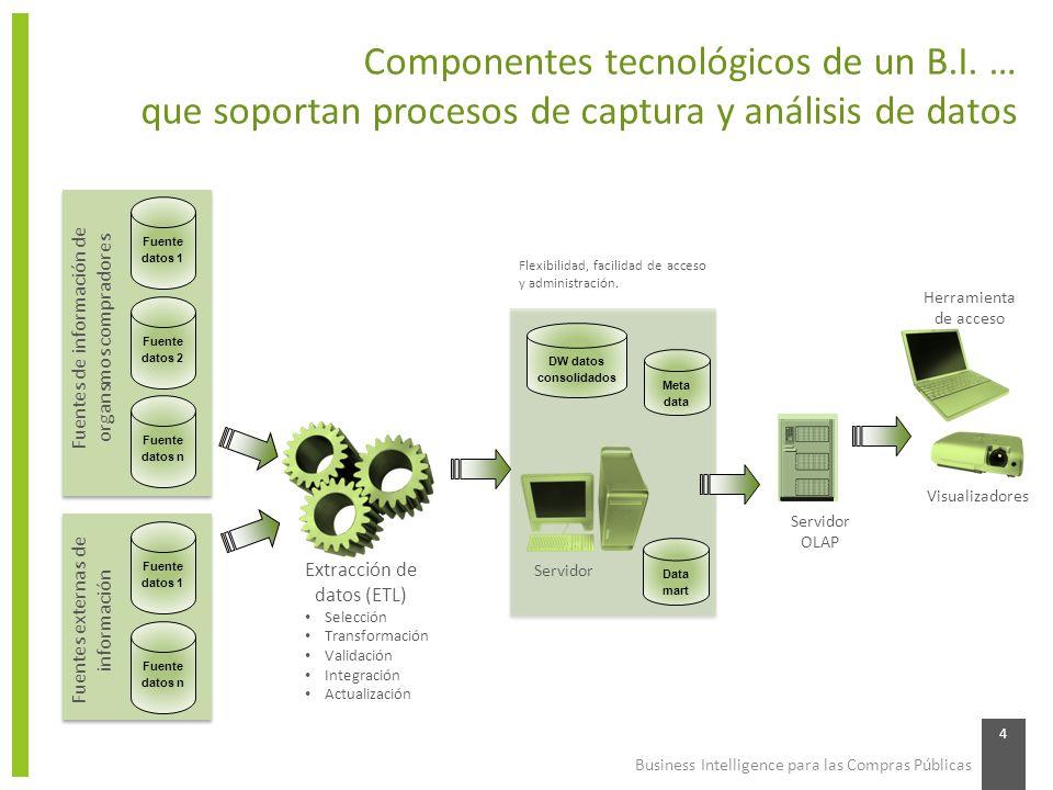 Componentes tecnológicos de un B.I. …