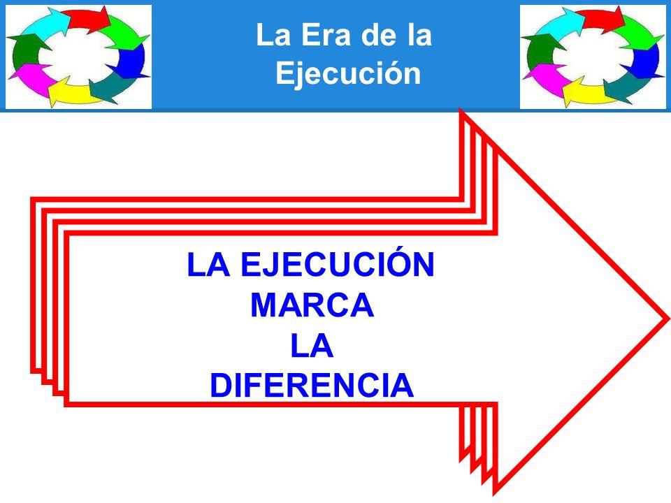 LA EJECUCIÓN MARCA LA DIFERENCIA LA EJECUCIÓN MARCA LA