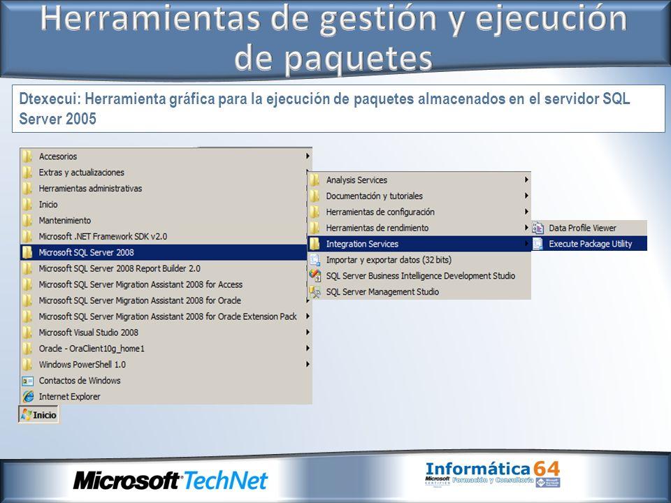Herramientas de gestión y ejecución de paquetes