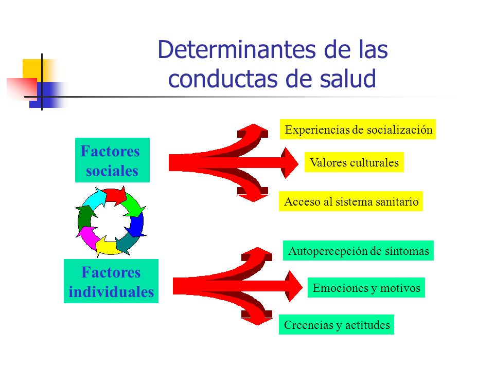 Determinantes de las conductas de salud